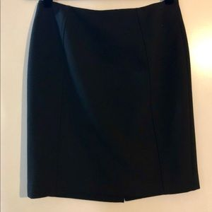 Black lined Pencil Skirt by Halogen